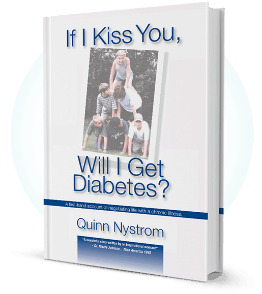 If I Kiss You Will I Get Diabetes Book Promo Image
